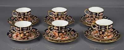 Lot 17 - A set of six Royal Crown Derby Imari pattern...