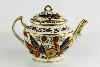 Lot 45 - An early Chamberlain Worcester tea pot, with...