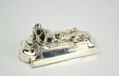 Lot 23 - A De Barr & Stroud Afstandmeter silver plated...